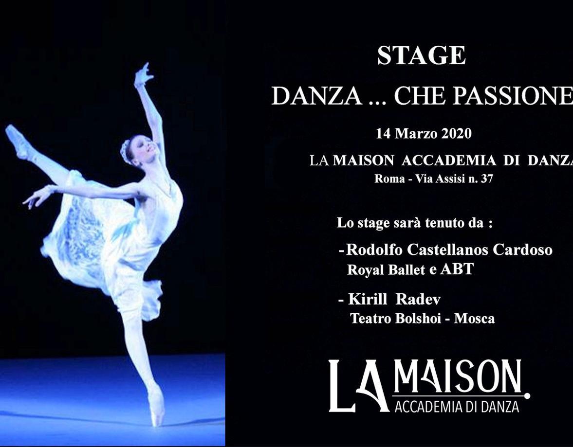 Stage di danza 14/03