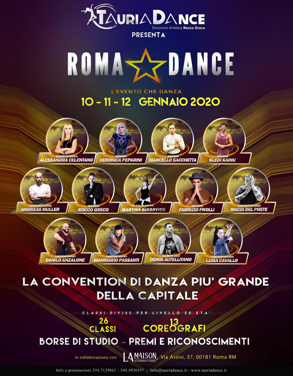 Roma dance – Stage